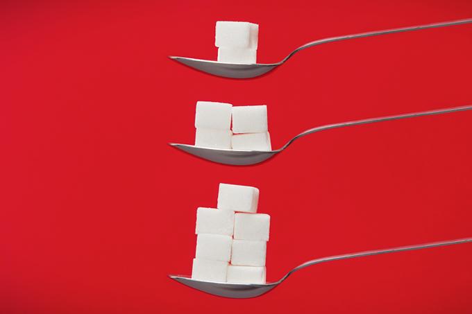 A caça ao açúcar dos alimentos industrializados